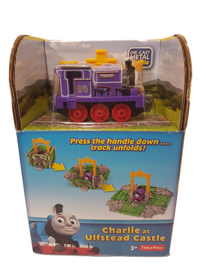 Thomas & Friends - Charlie at Ulfstead Castle, Cube Station, Fisher Price