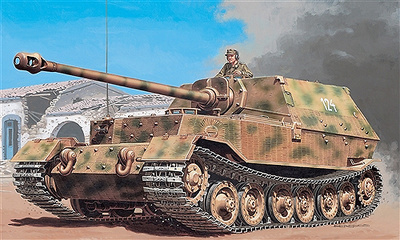 Tiger (P) Elephant, Jagdpanzer, 1:35, Italeri