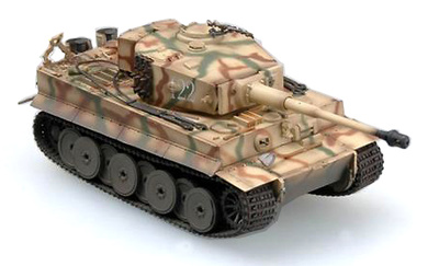 Tiger 1 (Middle), sPzAbt 509, Rusia, 1943, 1:72, Easy Model