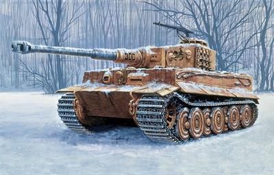 Tiger I, Ausf. E, 1:35, Italeri