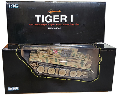 Tiger I,  German Army, #316, Kurland, Frente del Este, 1944 1:16, Merit