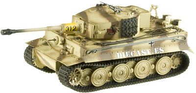 Tiger I, Lager Type, s.Pz.Abt. 505, Russia 1944, 1:72, Easy Model
