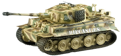 Tiger I, Late Type, SS-Pz.Abt. 102, Normandía, 1944, 1:72, Easy Model