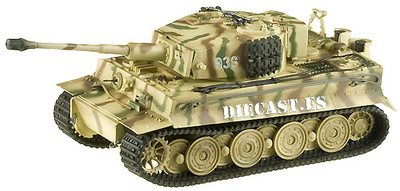 Tiger I, Later Type, Totenkopf Panzer Division, 1944, 1:72, Easy Model