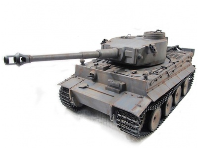 Tiger I, color gris, 1:16, Mato