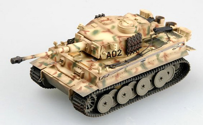 Tiger I, early production, Div.Grossdeutschland, Russia, 1943, 1:72, Easy Model