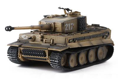 Tiger I '217' Otto Carius, 502º Batallón Panzer Pesados, Leningrado, 1944, 1:72, PMA