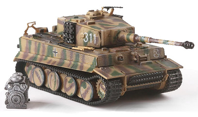 Tiger I '311' S.Ss.Pz.Abt. 101, Normandy, 1944, 1:72, PMA