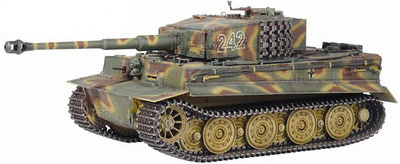 Tiger I Late Production w/Zimmerit 2./s.Pz.Abt.102, 1:35, Dragon Armor