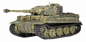Tiger I late production Pz.Abt.301, 1:35, Dragon Armor