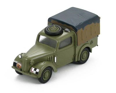 "Tilly Light Utility Car ""M1136086"" No.1 TCMT, Camberley, UK 1945, 1:48, Hobby Master"