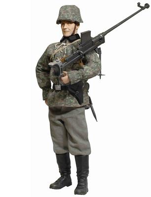"Tirador ""Viktor Schmidt"", German PzB782(e) Gunner, Regimiento ""LAH"", Operación Fall Gelb, Dunkerque, 1940, 1:6, Dragon Figures"
