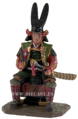 Todo Takatora, Samurai, 1:30, Del Prado