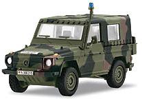 Todo terreno Wolf, Policía Militar, Ejército Alemán, 1:87, Märklin