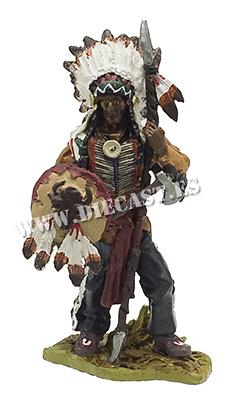 Toro Sentado (Sitting Bull), Jefe tribu Sioux, 1831-1890, 1:30, Hobby & Work