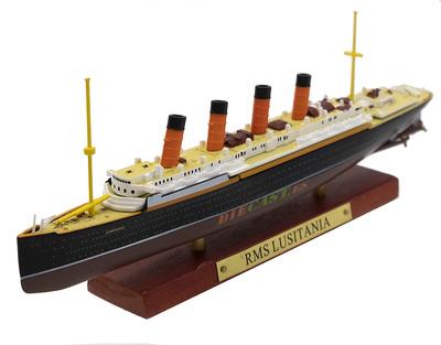 Transatlántico RMS Lusitania, Gran Bretaña, 1906, 1:1250, Atlas