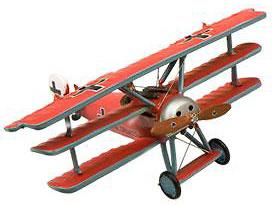 Triplano Fokker Dr.1, 1:72, Planeta de Agostini