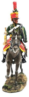Trompeta, 5º Regimiento de Húsares, Austria, 1805, 1:30, Del Prado