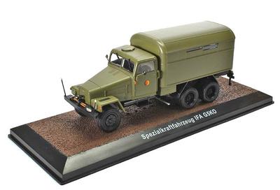 Truck IFA G5KO Spezialkraftfahrzeug NVA-Fahrzeuge, RDA, 1:43, Atlas