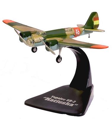 Tupolev SB-2 Katiuska, Guerra Civil Española, 1:144, Atlas