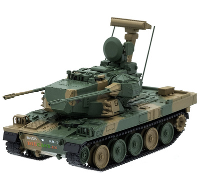 Type 87, Self-propelled Anti-aircraft, JGSDF, Japan, 1:72, DeAgostini
