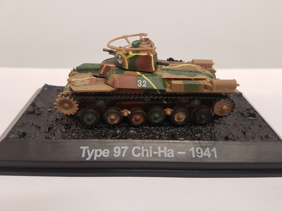 Type 97 Chi-Ha, 1941, 1:72, Amercom