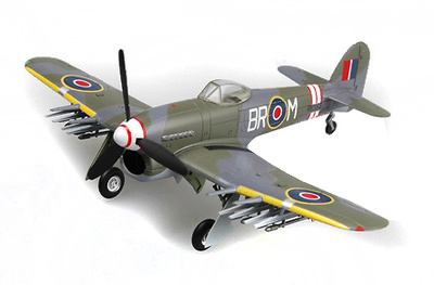 Typhoon MK.IB, Rb382, 184 Squadron, Schleswing, Julio, 1945, 1:72, Easy Model