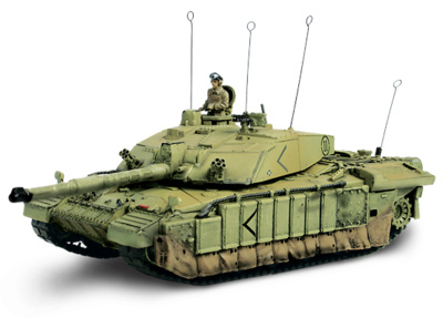 U.K. Challenger II,  Basora, Irak, 2003, 1:72, Forces of Valor