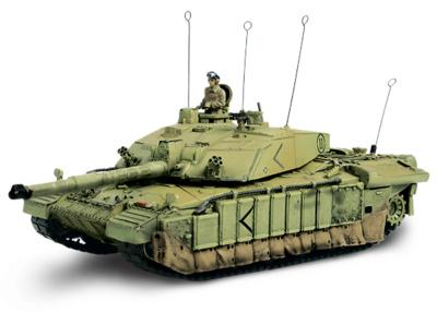 U.K. Challenger II,  Basora, Iraq, 2003, 1:72, Forces of Valor