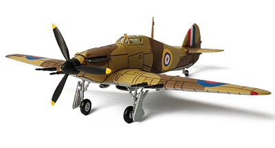 "U.K. Hurricane, Vernon ""Woody"" Woodward, #33 Squadron, Fuka (Egypt), 1940, 1:72, Forces of Valor"