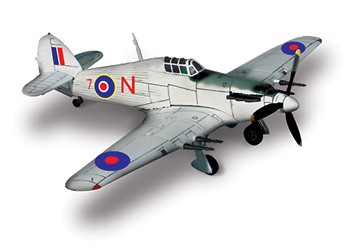 U.K. Hurricane RAF Nº34 1:72, Forces of Valor