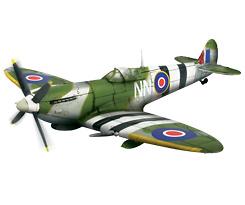 U.K. Spitfire MK IX, 1:72, Forces of Valor