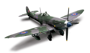 U.K. Spitfire MK IX No. 132, 1:32, Forces of Valor