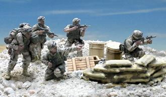 U.S. 101st  AIRBORNE BAGHDAD 2003, 1:72, Forces of Valor