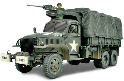 U.S. 2 1/2 Ton Track, England 1944, 1:32, Forces of Valor