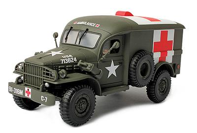 U.S. 4X4 Ambulance, 1942, 1:32, Forces of Valor