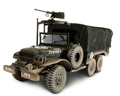 U.S. 6X6 1.5 Ton Cargo Truck, European Theater Operation, 1945, 1:32, Forces of Valor