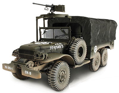 U.S. 6x6 1.5 Ton Cargo Truck, 1:32, Forces of Valor