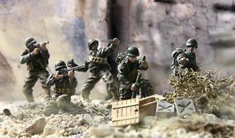 U.S. 7º Infantry Div. Ranger, Normandy, 1:72, Forces of Valor