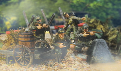 U.S. 82nd  AIRBORNE, Normandia 1944, 1:32, Forces of Valor