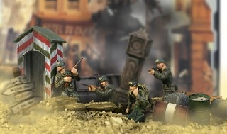 U.S. 82nd Airbone, Normandy 1944, 1:32, Forces of Valor