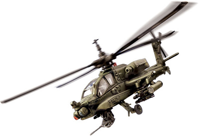 U.S. Ah-64A Apache Attack, 1:48, Forces of Valor