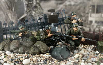 U.S. First Infantry Division, 1:32, Forces of Valor
