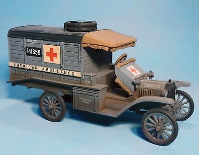 U.S. Ford T Ambulancia, 1918, 1:30, John Jenkins
