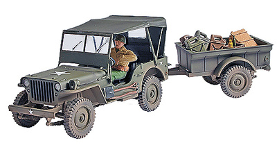 U.S. General Purpose Vehicle (GP), 1:32, Forces of Valor