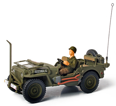 U.S. General Purpose Vehicle (GP), Normandy, 1944, 1:32, Forces of Valor