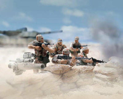 U.S. INFANTRY DIVISION MECHANIZED, 1991, Desert Storm,1:32, Forces of Valor