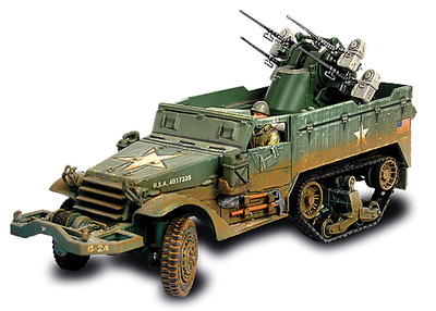U.S. M16 Multiple Gun Motor Carriage, Normandy, 1944, 1:32, Forces of Valor