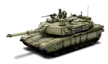 U.S. M1A2 ABRAMS, TANK BAGHDAD 2003, 1:72, Forces of Valor
