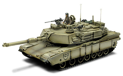 U.S. M1A2 Abrams, Bagdag, 2003, 1:72, Forces of Valor